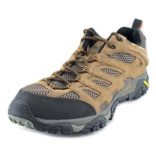 Merrell Moab Ventilator Men Round Toe Leather Brown Hiking Shoe