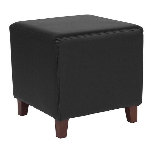 Shop Offex Ascalon Contemporary Upholstered Ottoman Pouf
