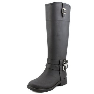 INC International Concepts Federica Women Black Snow Boots
