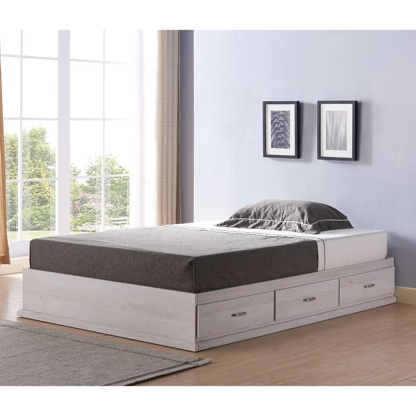 Roman Modern Multi Storage Platform Bed Collection Overstock 30064972