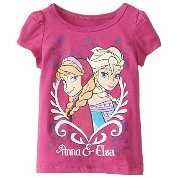 Disney Frozen Casual Top Toddler Girls Anna & Elsa - 3t