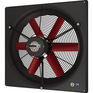 Multifan V4E45K2M71100 18 Inch Exhaust Fan Single Phase 120V - multi