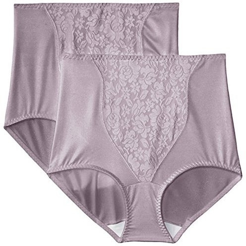 Bali Women's Shapewear Double Support Coordinate Brief 2-Pack 8372