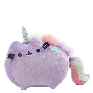 "Pusheenicorn Pusheen Unicorn 7.5"" Magical Sound Plush, Purple - multi"