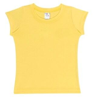 Baby Girl Shirt Short Sleeve Classic Tee Newborn Clothes Pulla Bulla 3-12 Months
