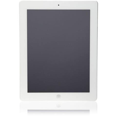 Apple iPad 3 Tablet 32GB, Wi-Fi & Cellular, White (Refurbished)
