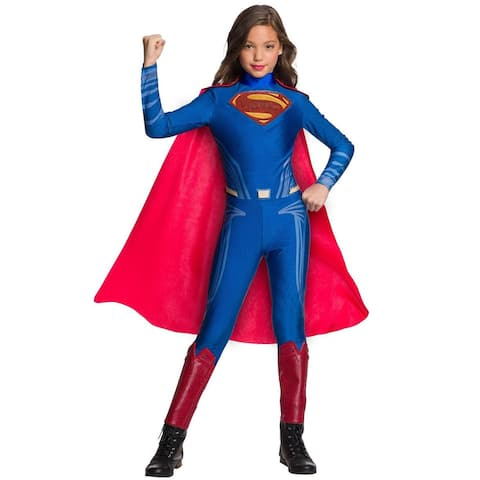 Rubies Superman Girl Child Costume - Blue/Red