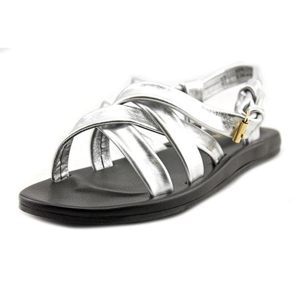 Emozioni W1325 Open Toe Leather Gladiator Sandal