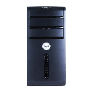 Dell Vostro 400 Computer Tower Intel Core 2 Duo E7600 3.06G 2GB DDR2 160G Windows 7 Home 1 Year Warranty (Refurbished) - Black