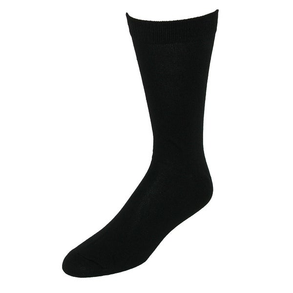 Focus Men's Black Dress Socks