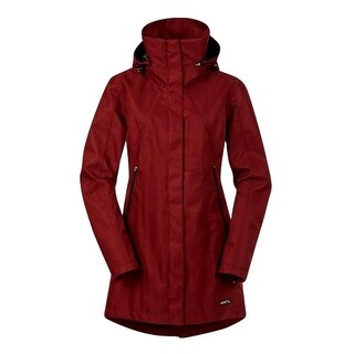 Kerrits English Jacket Womens Barn Weatherproof High Collar Hood 40605