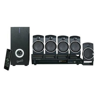 Supersonic - Sc-37Ht -5.1Ch Surroundsoundsystem Dvd Hometheater System Usb Input