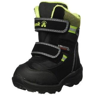 Kids Kamik Boys Slate Ankle Snow Boots