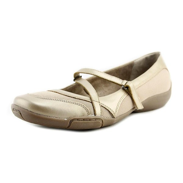 Auditions Crescent Women Champagne Flats