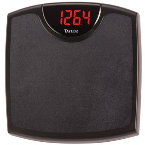 Taylor 98764072 Superbrite Electronic Digital Bath Scale