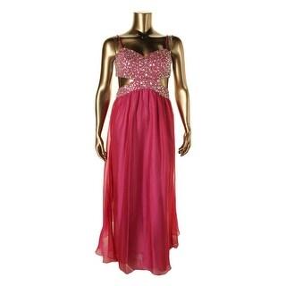 Decode 1.8 Womens Semi-Formal Dress Chiffon Prom