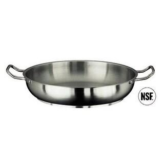 Paderno World Cuisine 11115-32 Paella Pan Stainless Steel
