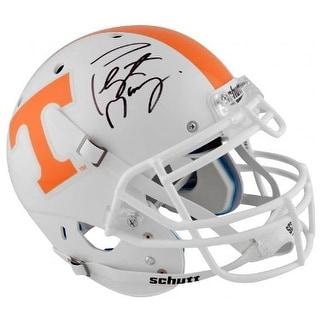 Peyton Manning signed Tennessee Volunteers Schutt Authentic Pro-Line Helmet- Fanatics Hologram