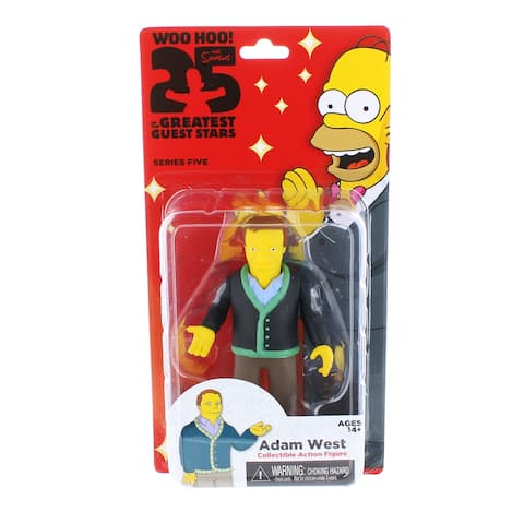 "The Simpsons 25th Anniversary 5"" Series 5 Action Figure: Adam West - multi"