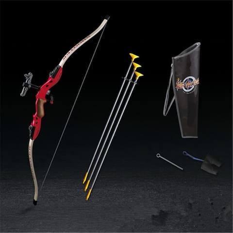 shooting bow arrow toys boy toys sports fitness equipment Archery - Red
