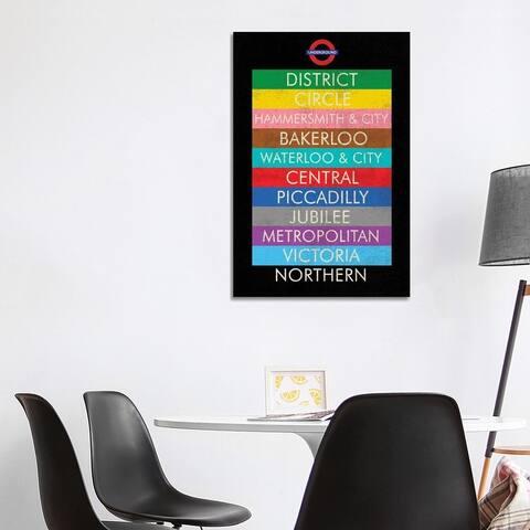"iCanvas ""London"" by Erin Clark Canvas Print"