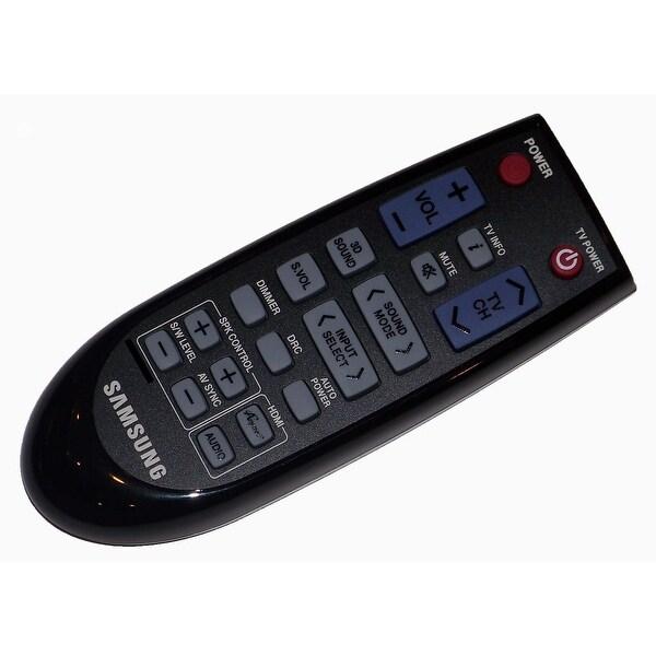 OEM Samsung Remote Control: HWD550/XZ, HW-D550/XZ, HWD550/ZA, HW-D550/ZA, HWD550/ZC, HW-D550/ZC, HWD551, HW-D551