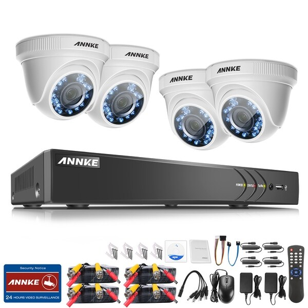 ANNKE 1080P 8CH HD CCTV Security Cameras Surveillance System