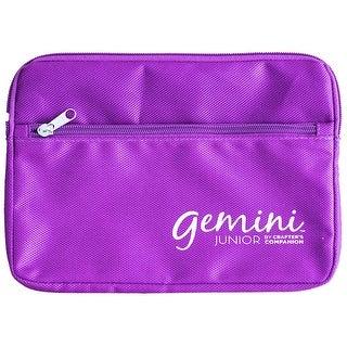 Carfter's Companion Gemini Junior Plate Storage Bag-Purple