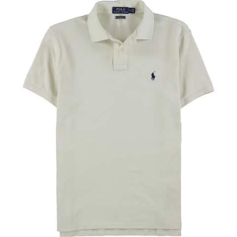 Ralph Lauren Mens Slim Fit Mesh Rugby Polo Shirt