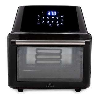 Link to ChefWave Magma 16 Quart Air Fryer/Oven/Rotisserie/Dehydrator and Accessories Similar Items in Fryers