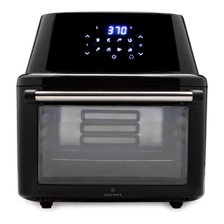 ChefWave Magma 16 Quart Air Fryer/Oven/Rotisserie/Dehydrator and Accessories