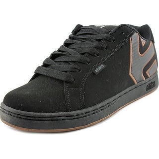 Etnies Fader Men Round Toe Leather Black Skate Shoe
