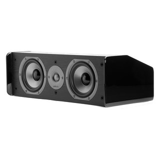 "Polk Audio CS10 Center Channel Speaker with Dual 5-1/4"" Drivers - Each"