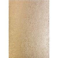 Golden Glacier - Craft Perfect Luxury Embossed A4 Cardstock 5/Pkg