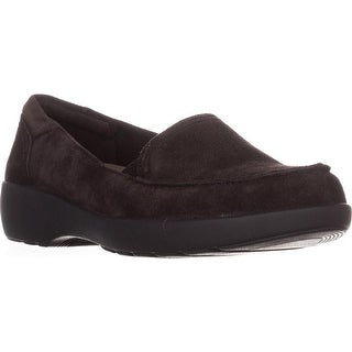 Easy Spirit Karin Slip-On Loafers, Dark Brown/Dark Brown