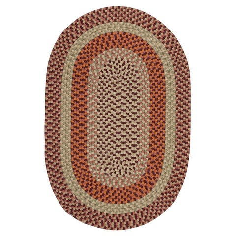 Colonial Mills Mendi Indoor Outdoor Braided Rug