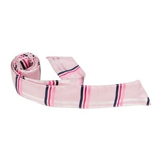 XP33 HT - 42 in. Child Matching Hair Tie - Pink with Pink & Navy