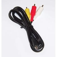 OEM Sony Audio Video AV Cord Cable Specifically For DCRSR75E, DCR-SR75E, DCRSR77E, DCR-SR77E