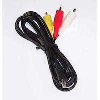 OEM Sony Audio Video AV Cord Cable Specifically For HDRXR500E, HDR-XR500E, HDRXR500VE, HDR-XR500VE