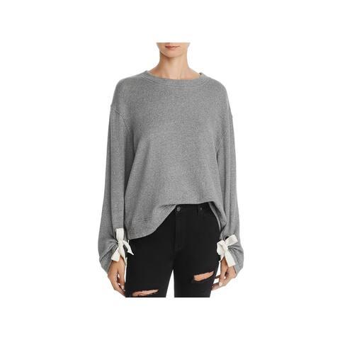 Splendid Womens Sweatshirt Casual Long Sleeve