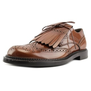 Tod's FRANGIA BUCATURE CUOIO PESANTE UA Round Toe Leather Loafer