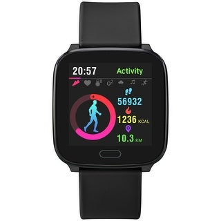 Link to iConnect by Timex Active Smartwatch with Heart Rate, Notifications & Activity Tracking 37mm - Black with Black Resin Strap Similar Items in Activity Trackers & Pedometers