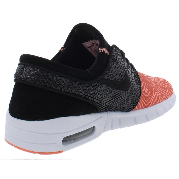 Shop Nike SB Mens Stefan Janoski Max L Running Shoes Low Top