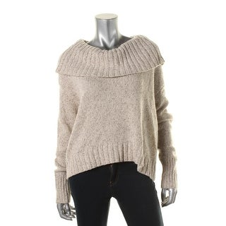 Eileen Fisher Womens Drapey Open Sides Pullover Sweater