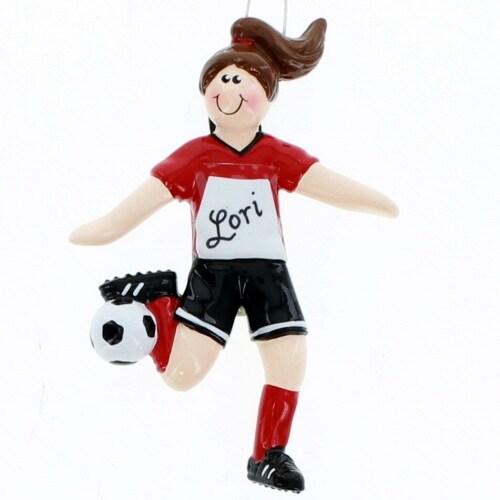 Brunette Soccer Girl