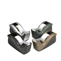 Scotch Heavy Weight Two-Tone Tape Dispenser with 1 in Core, 3/4 x 1500 in Tape, Black