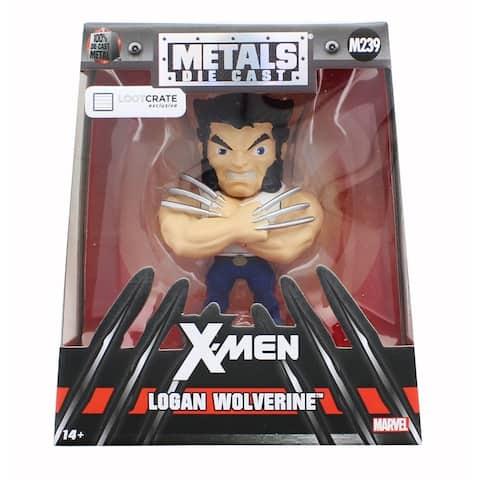 Marvel Logan Wolverine Exclusive 4.5-Inch Diecast Metal Figure - Multi