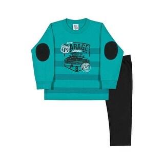Toddler Boy Sweatshirt and Sweatpants Little Boy Set Pulla Bulla Sizes 1-3 Years