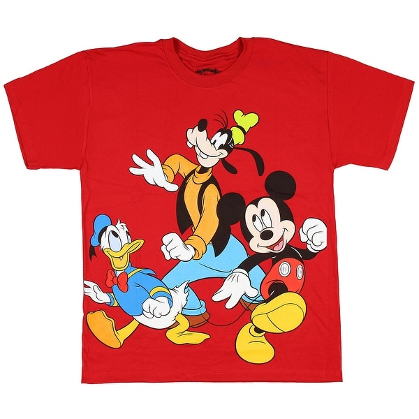 91a37a015 Shop Disney Mickey Mouse And Friends Goofy Donald Boys Youth T-Shirt - Free  Shipping On Orders Over $45 - Overstock - 16637208