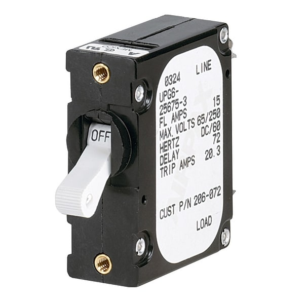 Paneltronics 'A' Frame Magnetic Circuit Breaker - 50 Amps - Single Pole